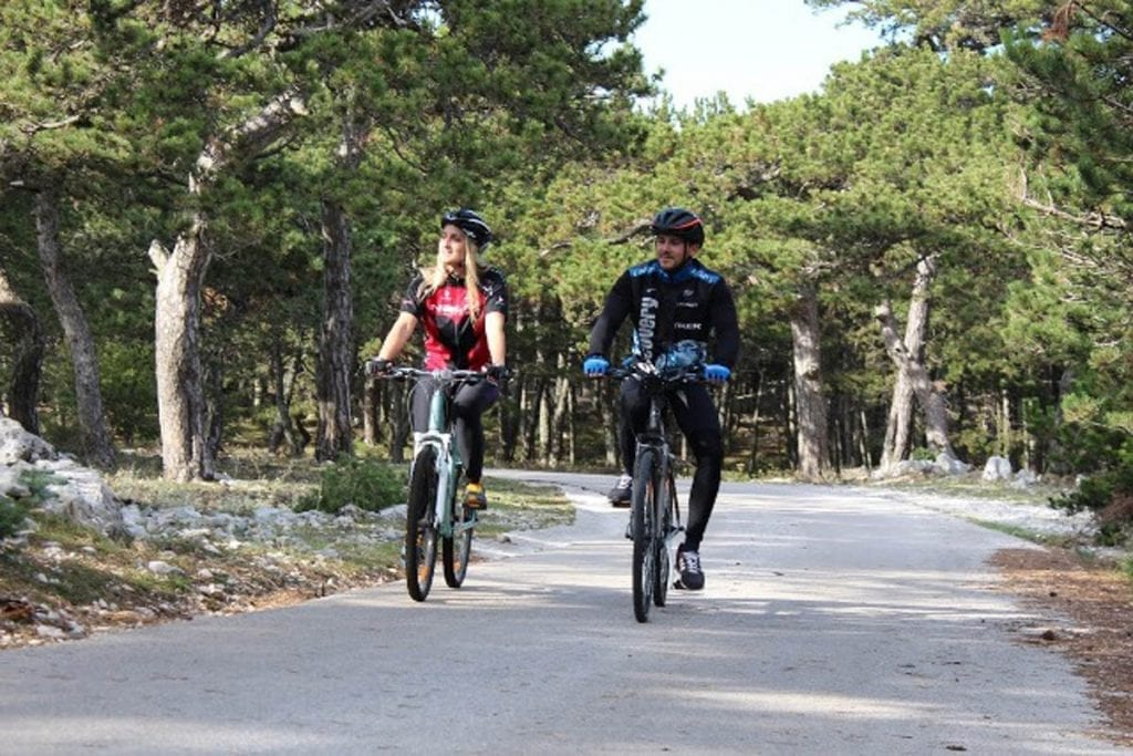 Saint Jelena bike track
